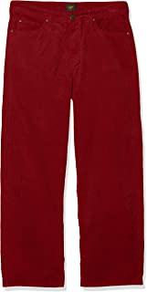 Lee 女士长裤 5 口袋宽腿 Corduroy