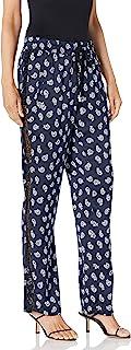 Kooples 女士长裤,*蓝方巾佩斯利设计