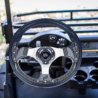 kemimoto 高尔夫球车方向盘兼容 Club Car DS Precedent EZGO TXT Drive 通用高尔夫球车配件