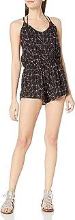 Dolce Vita 女士粗糙及滚筒抽象几何格子背连体衣