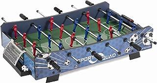 Sport Squad FX40 40 40 英寸桌面足球桌 适合成人和儿童 - 紧凑迷你桌面足球游戏