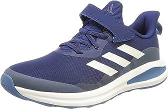 adidas 阿迪达斯 中性款 Fortarun EL K 运动鞋,多色 Azuvic Ftwbla Azufoc,39 1/3 EU
