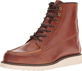 FRYE 男士 Dawson 坡跟工作靴时尚靴子
