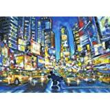 1000片 拼图 迪士尼 You, Me and the City 【彩绘艺术】 (51.2x73.7cm)