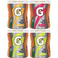Gatorade Thirst Quencher Powder 多种包装补充剂,18 盎司(约 518.8 克),4 罐