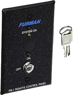 Furman RS-1 Furman Power 音序器远程控制系统,钥匙开关面板,保持开/关音序连接