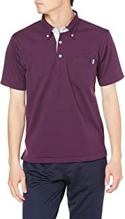 KILLET 条纹拼接护理针织衬衫 闪亮 针织衬衫 CR145-80(紫色) L 蜻蜓