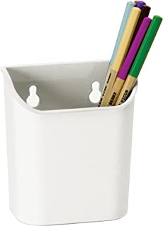 Officemate Magnet Plus 磁性铅笔杯,白色 (92540) 1-包每包 1 条 白色