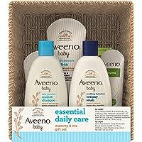Aveeno 艾惟诺 Baby Essential 日常护理婴儿和妈妈礼品套装,包含多种护肤和沐浴产品,滋养宝宝,呵护妈…