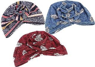 Cunite 非洲圖案女式預扎結頭帶