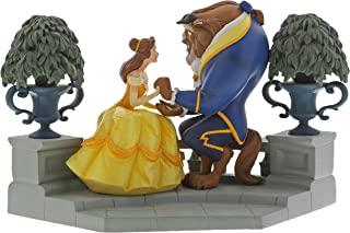 Disney 迪士尼 Enchanting Happy Here Beauty and The Beast 雕像