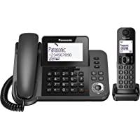 Panasonic KX-TGF310 - 电话(DECT,书桌,黑色,LCD,AAA,合成)