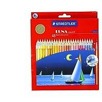 Staedtler Luna 水彩铅笔 48 种色调,免费礼品!! +免费配送