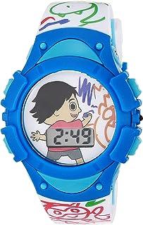 RYAN'S WORLD 男孩石英手表,塑料表带,多色,15 (型号:RYW4003AZ)