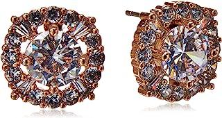 Anne Klein Hey Cubic Zirconia Elevated Stud Earrings