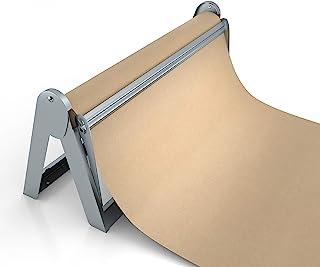 卷纸机和切纸器 - 长 45.72 厘米卷纸架 - 优质的屠夫纸张分配器,包装纸切割器,工艺纸架或乙烯基卷纸架 - 可壁挂