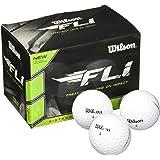 Wilson Staff F.L.I. 高尔夫球(12 只装) 白色