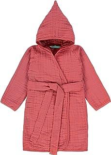 LÄSSIG 婴儿儿童浴袍 * 纯棉,带包装/Muslin 浴衣