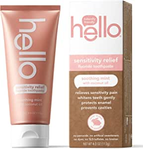 Hello Products - Sensitivity Relief Fluoride Toothpaste Soothing Mint with