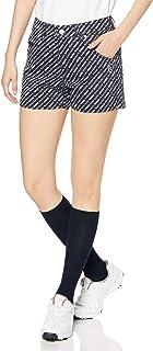 [派丽盖乐] [女士]短裤 (弹性・笑脸标志图案印刷) / 可爱 高尔夫 / 055-0132204