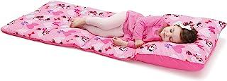 Disney 米妮老鼠,幼儿易折叠睡垫,粉色,浅绿色 米妮老鼠