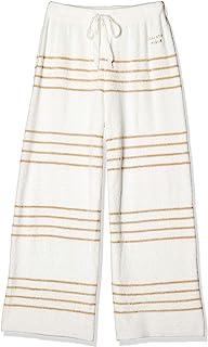 Gelato pique 平滑线条条纹长裤 PWNP201042 女士