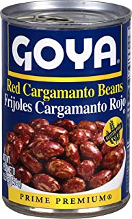 Goya Foods Red Cargamanto Beans, 15.5 Ounce (Pack of 24)