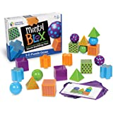 Learning Resources Mental Blox 批判思考游戏 20个积木 40张活动卡(5岁+)