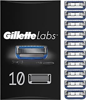 Gillette 吉列 男士加热剃须刀刀片 热毛巾剃须 ,每包10个补充刀片(适用于信箱)