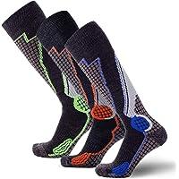 高性能羊毛冬季运动短袜 – 户外羊毛滑雪袜, snowboard 短袜