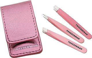 Tweezerman 迷你镊子套装,粉色