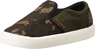 crocs 儿童中性 CitiLane Novelty Slipon Sneaker - K