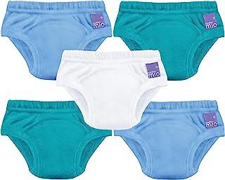 Bambino Mio,便盆训练裤,混合男孩,蓝色,18-24 个月,5 件装