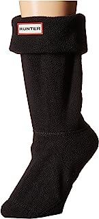 HUNTER 短筒靴袜,黑色(短款),MD 码(女鞋 5-7)