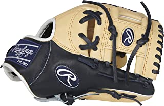 Rawlings Pro Preferred 29.21 厘米棒球手套:PROSNP4-2CN PROSNP4-2CN *蓝 11 1/2""