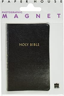 Paper House Productions M-0368E 模切冰箱磁贴,圣经(6 件装)