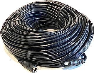 100 英尺(约 30.5 米)公对母直流 2.1 毫米 x 5.5 毫米延长直流电源 22-AWG 电缆