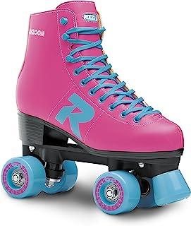 Roces 女孩汽车*滑冰街头,女孩,毛黄色