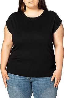 都市经典女式女式 extended 肩 T 恤 t 恤