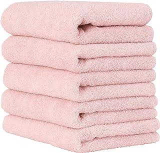 毛巾研究所 〔每天简单〕 无绒毛 高速吸水 速干 耐久性 人气 [7种颜色可选] 001 ローズピンク b.フェイスタオル [毎日シンプル] #001