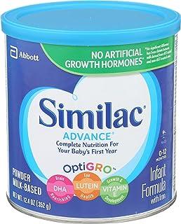 Similac 雅培 Advance 含铁婴儿配方奶粉 12.4盎司/352克