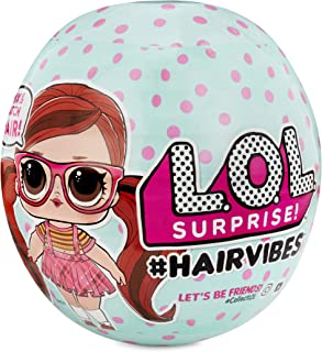 L.O.L. Surprise! Hairvibes带可变发型和配件的惊喜娃娃 - 1/12件手办盲盒 564751E7C