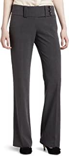 My Michelle 女式宽松裤,带宽腰带 灰色 3