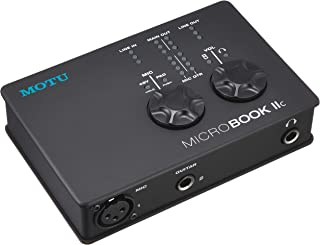 MOTU MicroBook IIc 4入门 支持iOSUSB音频接口