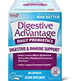 Schiff 旭福 Digestive Advantage 每日益生元胶囊-80粒,存活率提高100倍,可以减轻腹部问题…
