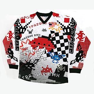 摩托车运动衫赛车自行车赛车衬衫速干摩托车越野赛骑行服装自行车运动衫长袖