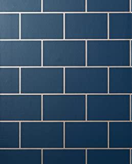 Metro 瓷砖*蓝/玫瑰金
