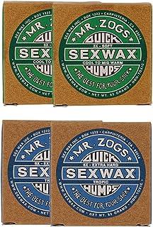 SEXWAX 萨芬 用 快速打蜡 3X 6X 各2个套装