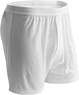Ex-Officio Men's Give-N-Go Boxer,White,Medium