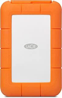 LaCie 莱斯 Rugged RAID Pro 4TB外置硬盘便携式硬盘 – USB 3.0 兼容 – 带 SD 卡插槽,防摔防尘,适用于 Mac 和 PC 电脑台式电脑工作站笔记本电脑(STGW4000800)